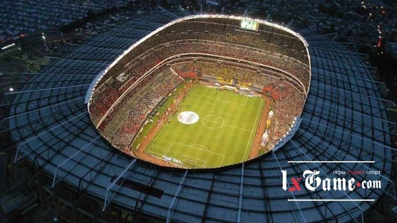 Ацтека (Estadio Azteca) - один из самых больших стадионов в мире