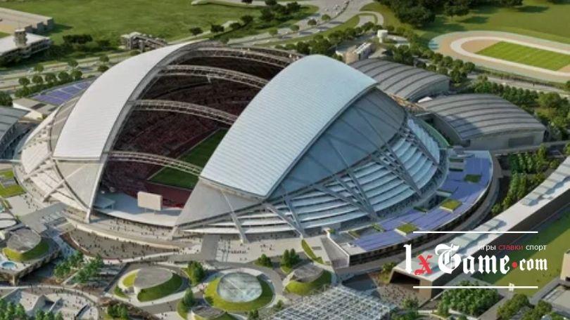 Национальный стадион Сингапур - стадион вместимостью 55000 чел