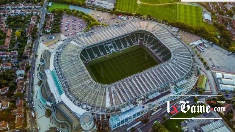 Твикенхэм (Twickenham Stadium) - самый крупный стадион для регби